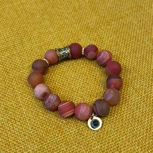 Boho-Chic Beaded Bracelet